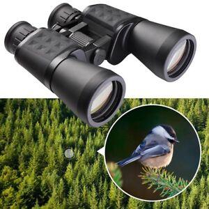 Wide-Angle-10x50mm-HD-Binoculars-Telescope-Waterproof-Travel-Birdwatching-w-Bag