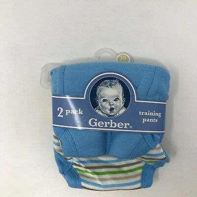 Gerber White Training Pants 32-35 lbs.