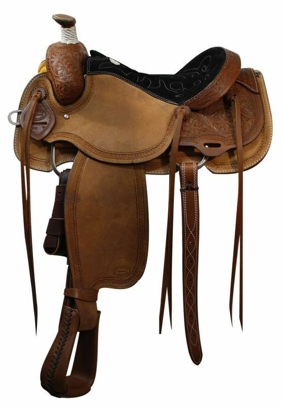 16   Showman™ Calf Roper Saddle.  low 40% price