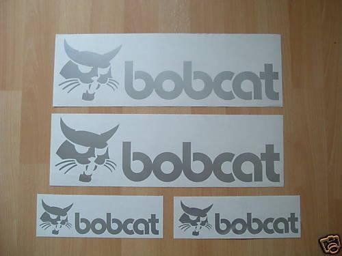 Calcomanías Decorativas Bobcat set Skidsteer Parts