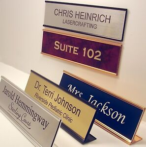 Charming Image Is Loading NAME PLATE For Office Desk Or Door Sign