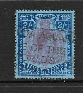 BERMUDA-GEORGE-VI-2-Two-Shillings-USED-No-1
