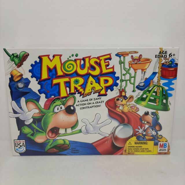 Mouse Trap Board Game Vintage 2005 Milton Bradley Sealed New Kids Game