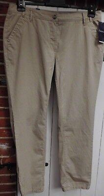 Pantaloni-chino-tg. 46 Gardeur-beige Modello Cher-merce Nuova-mostra Il Titolo Originale Fabbricazione Abile
