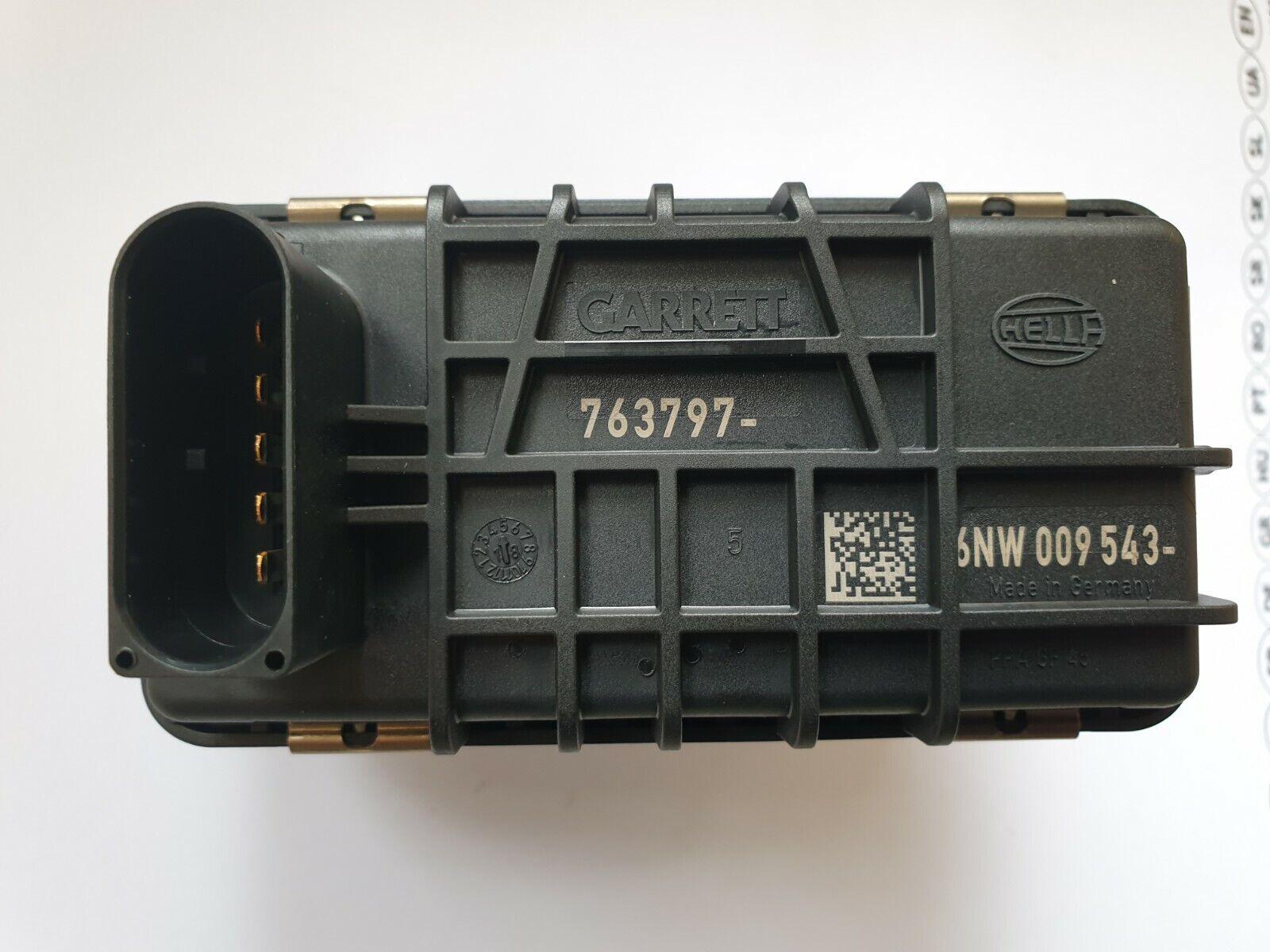 Hella Garrett Ladedruckregler 6NW009543 763797 G-13 Stellmotor Turbolader ** NEU