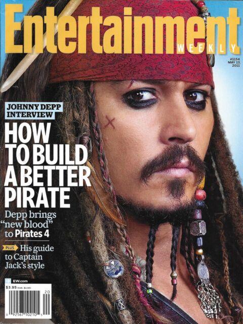 Entertainment Weekly Magazine Pirates Of The Caribbean Johnny Depp Bridesmaids