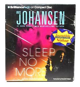 Sleep No More By Iris Johansen - Audiobook Abridged  (2012, 5 CDs)  Eve Duncan