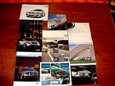 Lot 9 Volvo, BMW, Hyundai, Suburu, Honda, Nissan, Mitsubishi Car Brochures