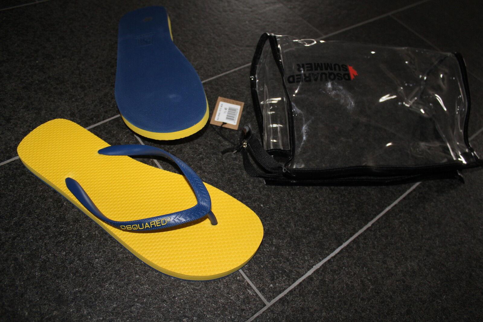 Dsquarojo 2 S s 2015 Chanclas Baño sandalias zapatillas zapatos 45 zapatos Sandals