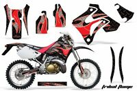 Honda Graphic Kit Amr Racing Bike Decal Crm 250ar Decal Mx Part All Tribal Red