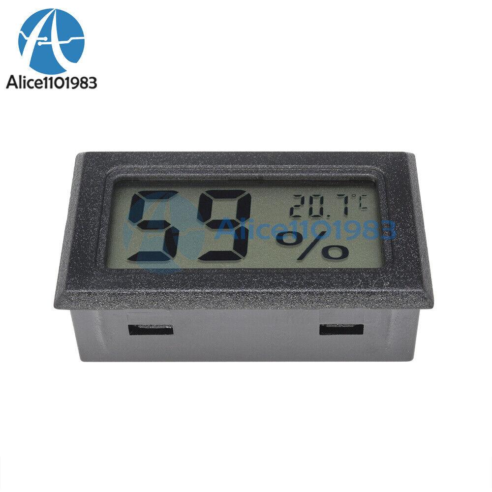 10PCS Mini Digital LCD Thermometer Hygrometer Humidity Temperature Meter Indoor