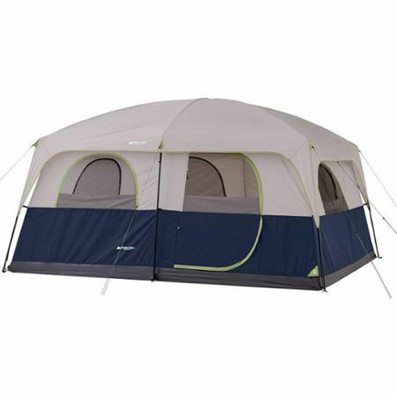 Camping Trail WMT-141086 10 Person Cabin Tent - bluee outdoors canopies outdoors