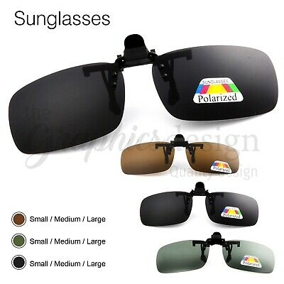 Polarised Clip On Flip up Sunglasses UV400 Polarized sun glasses Driving Fishing