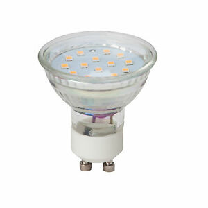 LED-SMD-GU10-source-d-039-eclaraige-Spot-couleur-blanc-chaud-reflecteur-3W-250