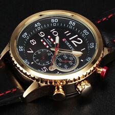 moda nuevos deportes de negocio curren de cuarzo relojes de los hombres relogio
