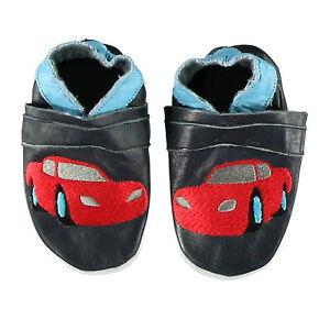 Baby-Krabbelschuhe-Lauflernschuhe-aus-Leder-in-Rosa-oder-Blau