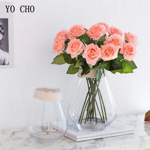 Verdadero-toque-rosa-flores-de-seda-artificial-Peonia-Nupcial-Boda-Ramo-Decoracion-del-hogar