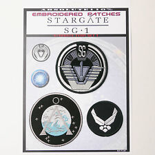 STARGATE SG1 TEAM Patches - Iron-On Patch Mega Set #34 - FREE POST