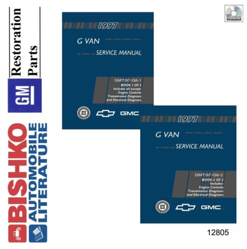 informafutbol.com GMC Savana Shop Service Repair Manual CD 1997 ...