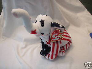 Image is loading Ty-Beanie-Babies-Righty-2000-Elephant-Retired-New 30ed82e963d7