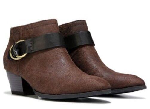 Franco Sarto Gabie ankle boots booties Braun sz 7 Med NEU