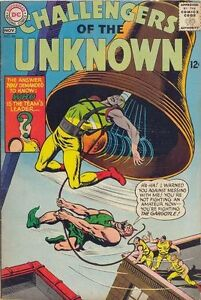 CHALLENGERS-OF-THE-UNKNOWN-46-Very-Good-DC-Comics-1965