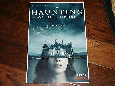 Henry Thomas Signed The Haunting Of Hill House 12x18 Movie Poster Horror Ebay