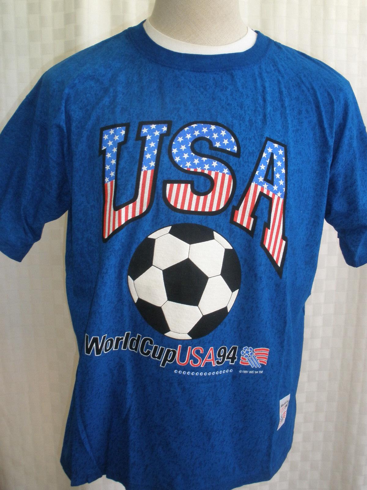 WORLD CUP USA 94' FOOTBALL T-SHIRT SIZE  XXL VINTAGE NWT RARE