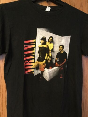 Nirvana  Black Shirt.  M.