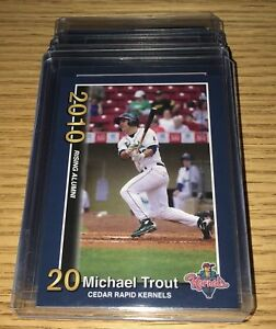 5-Mike-Trout-Rc-2010-MINOR-LEAGUE-Cedar-Rapids-1-Rookie-card-Mint-Lot