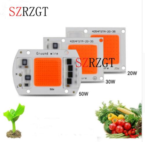 5ps AC220v 20w 30w 50W  full spectrum 380-840nm DIY led grow light chip for plan
