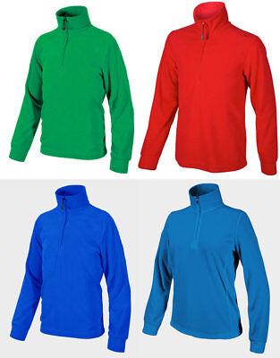 Jungen Fleeceshirt Skishirt Pullover Fleecepullover Shirt Crivit Sports