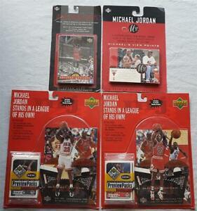 4x Lot Upper Deck Michael Jordan Greater Heights + 2x Mj 23 + View Points