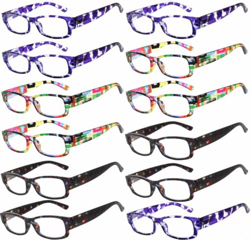 2020 Mix 12 PCS Eyewear Reading Deluxe Glasses for Ladies and Gentlemen's OWL®
