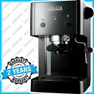 Gaggia Espresso Coffee Machine - 15 Bar 1025W Black