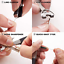 Zinger Updated Quick Knot Tool 4 in 1 Fly Fishing Clippers Line Nipper Tying