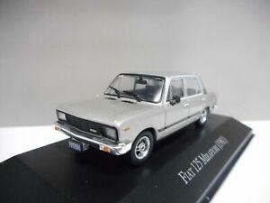 FIAT 125 Mirafiori 1981 AQV9J Voiture 1//43 SALVAT Inolvidables 80//90