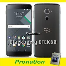 Blackberry DTEK60 32GB 4G Black 4GB RAM FACTORY UNLOCKED (Fast Shipment Use DHL)