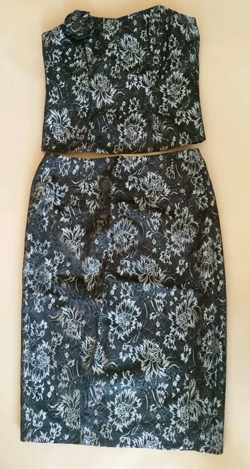 Ladies Evening Skirt And Bodice Set, Next, Size 8