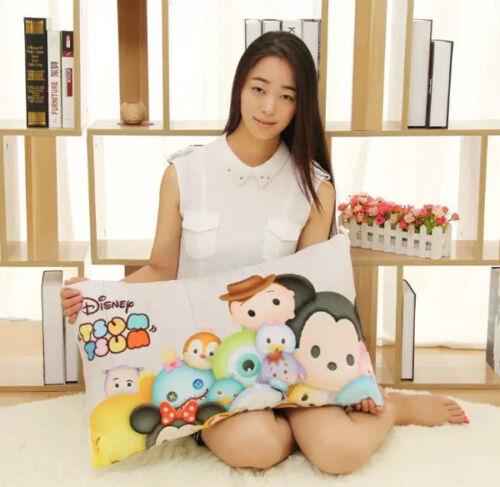 Disney Tsum Tsum Printing  Pillowcase Mickey Minnie Soft Fabric 3 Styles