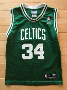 Paul Pierce Boston Celtics Jersey Reebok NBA Youth Size M Boys  34 ... a2c0e8d31