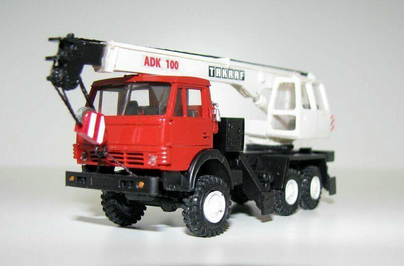 consegna veloce KAMAZ - 43105 43105 43105 adk-100 gru (URSS DDR) 1 87  spedizione gratuita