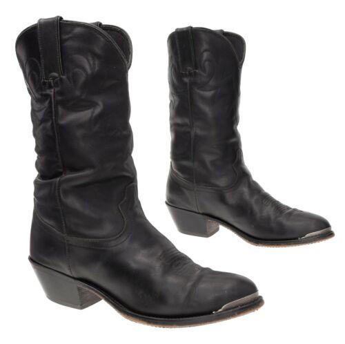 DINGO Cowboy Boots 7.5 M Womens Black Leather West