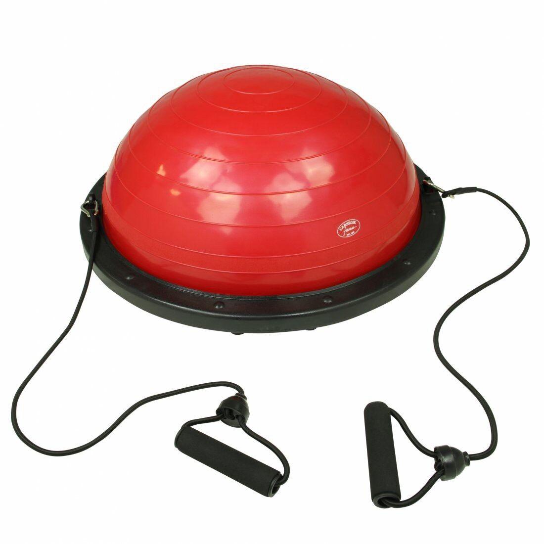 Carnegie Balance Ball Gleichgewichtstrainer Balance Board mit Widerstandsbändern