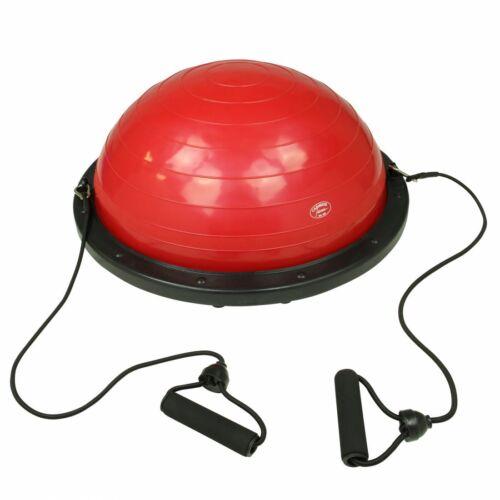 Balance Ball Gleichgewichtstrainer Balance Board mit Widerstandsbändern Pumpe