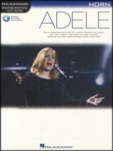 Adele Instrumental Play-along For Horn Sheet Music Book With Audio 19 21 25-afficher Le Titre D'origine