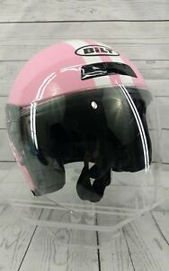 Ladies-Custom-Bilt-Pink-Motorcycle-Helmet-Size-EXTRA-SMALL-XS