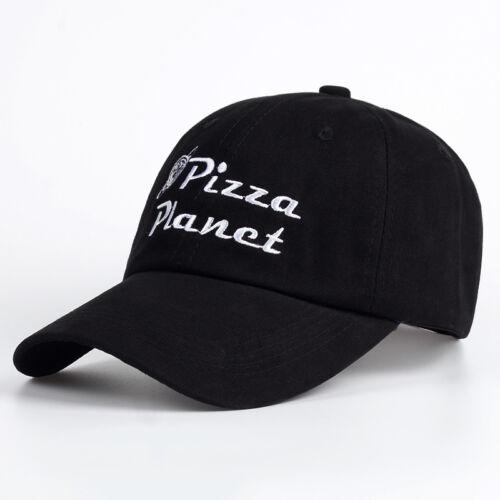 Pizza Planet Papa Chapeau Soleil D/'été Pizza Coton Snapback Hip Hop Sport Cap