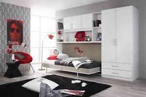 Jugendzimmer klappbett regal berbau kleiderschrank for Jugendzimmer ohne kleiderschrank