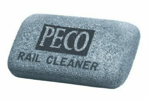 PECO PL41 Model Railroad Track Rail Cleaning Rubber 00/N Free Worldwide Std Post